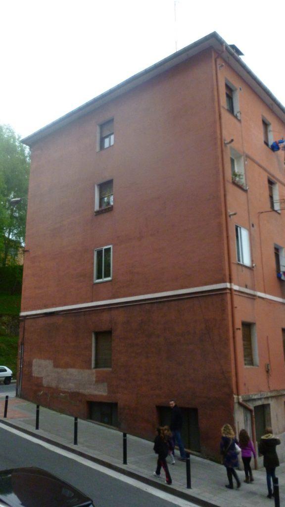Inspección técnica del edifico en Basauri-Bizkaia